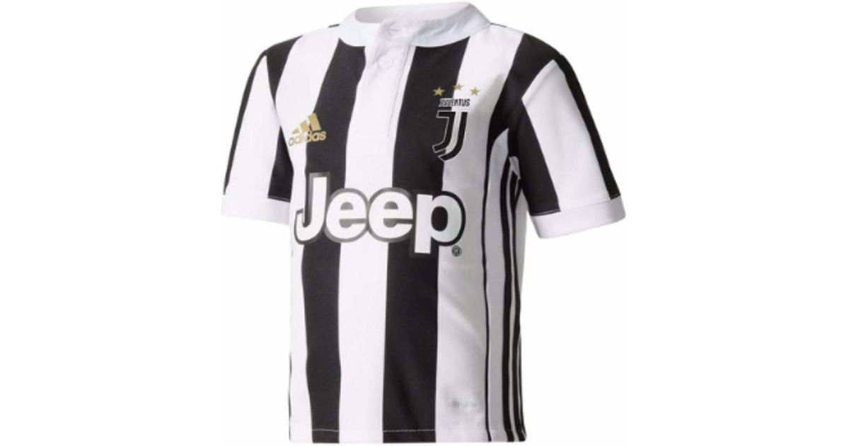 premium selection 867d4 f2217 Adidas Black 2017-18 Juventus Home Mini Kit (dybala 10) Men's T Shirt In  Other for men