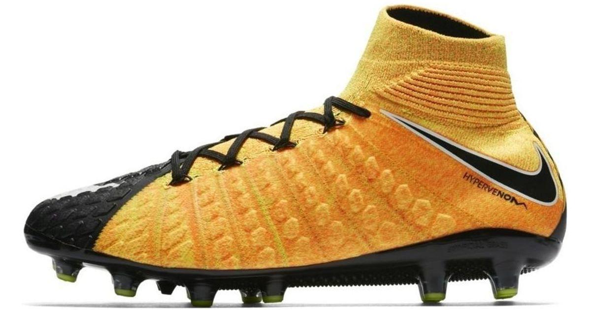 best website 16d48 1253a Nike Hypervenom Phantom Iii Df Ag Pro Men s Shoes (high-top Trainers) In  Black in Black for Men - Lyst