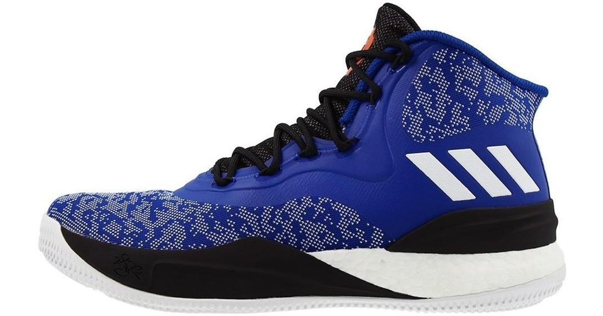 0fc1f1872970 adidas D Rose 8 Men s Shoes (high-top Trainers) In Black in Black for Men -  Lyst