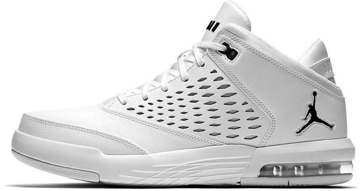 low priced 01cbf bf9dd Nike Jordan Flight Origin 4 Men's Shoes (high-top Trainers) In White for men