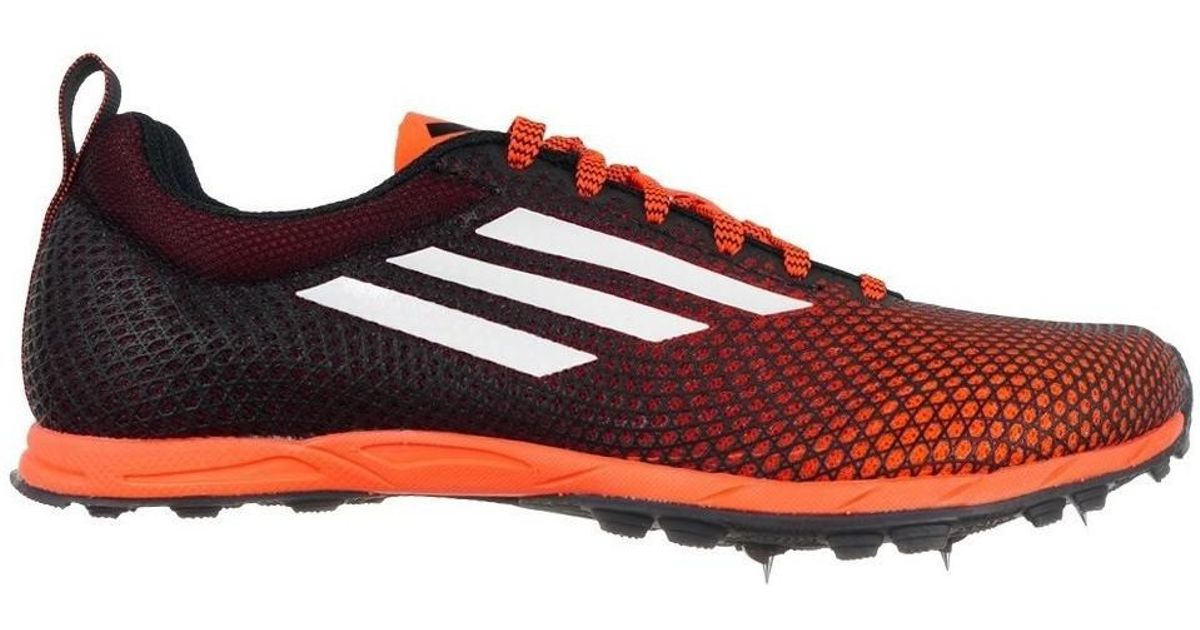 big sale 72b4b 19303 Adidas Cross Country Spikes 6 M Men's Running Trainers In Black for men