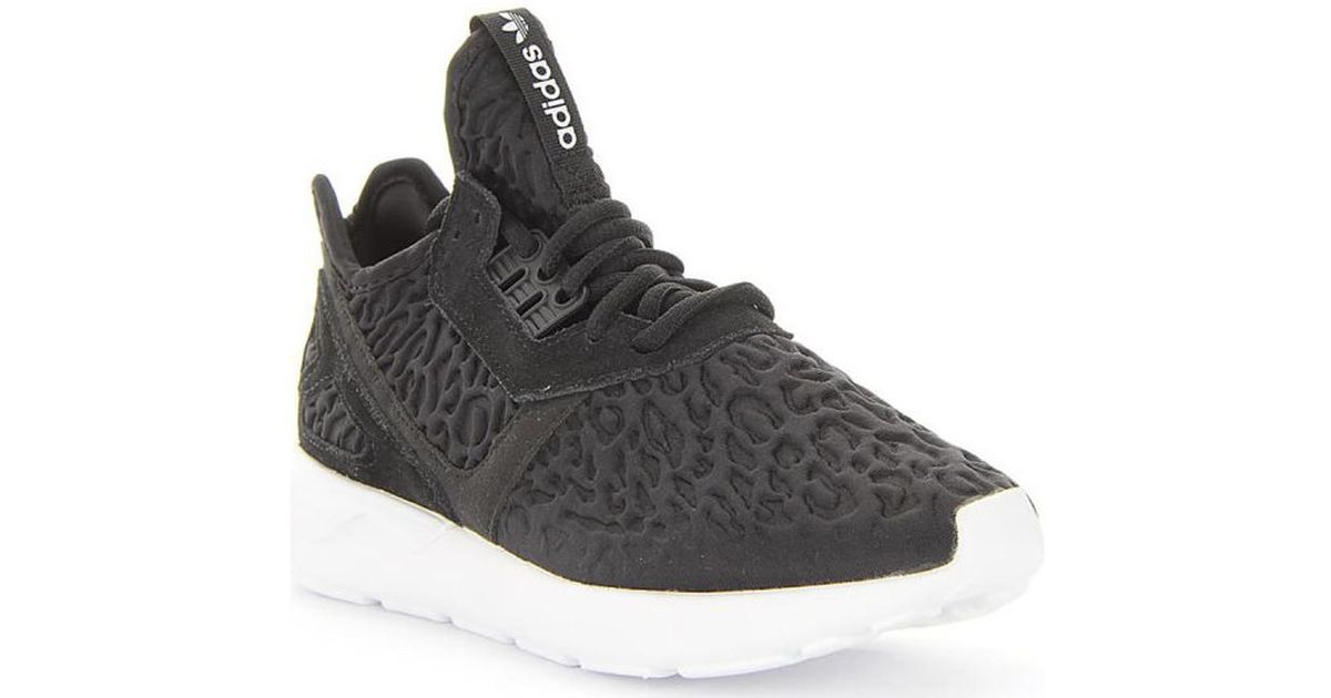 huge discount be1c2 cb041 Adidas - Tubular Runner W Women's Shoes (trainers) In Black - Lyst