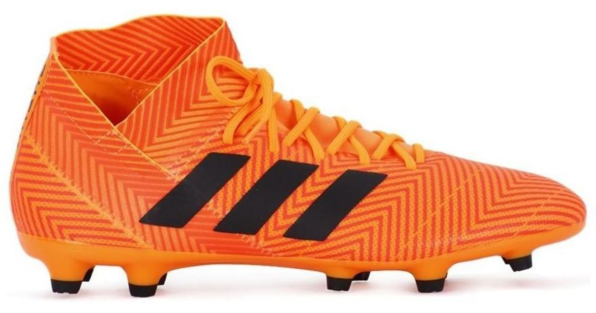 hot sales 32665 20c01 adidas Nemeziz 183 Fg Mens Football Boots In Orange in Orange for Men -  Lyst