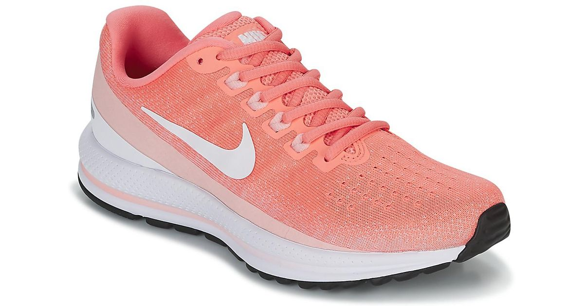 on sale 0121f 5248a Nike Air Zoom Vomero 13 Running W Women s Running Trainers In Pink in Pink  - Lyst