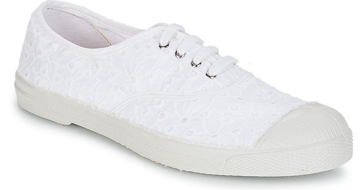 Bensimon - Damen - Fines Rayures - Sneaker - beige PPkiJze4S