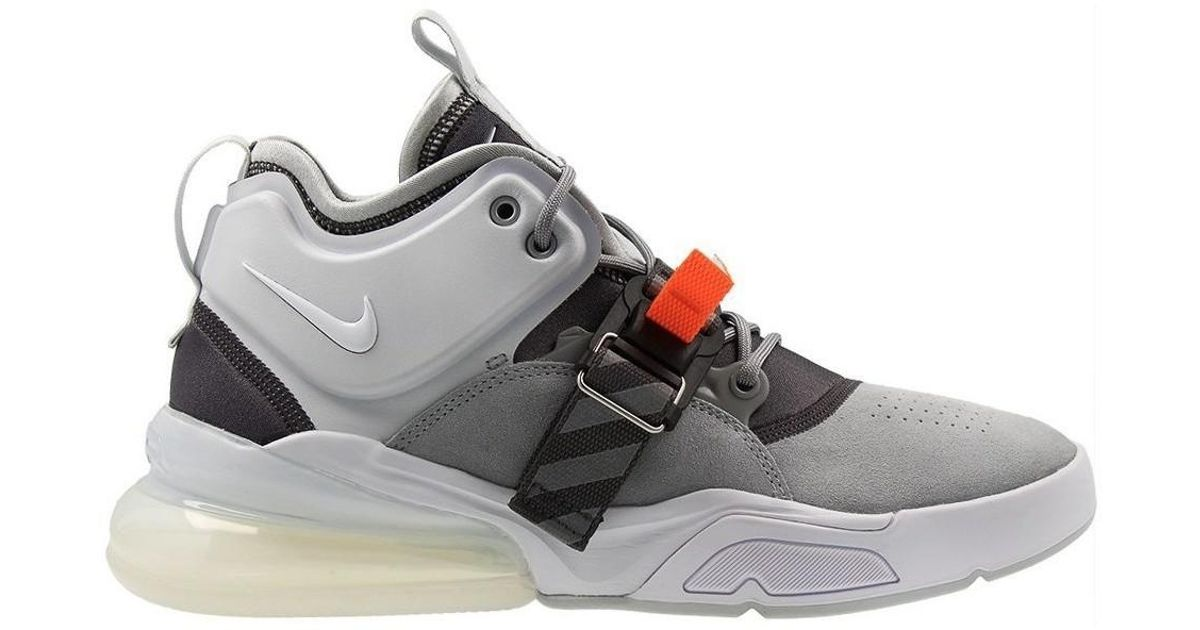 uk availability 2ca49 21438 Nike Air Force 270 Men's Shoes (high-top Trainers) In White for men