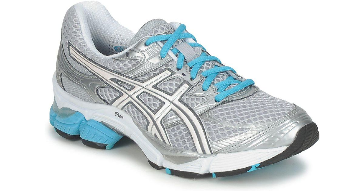 nouveaux styles 9bde3 919f3 Asics Metallic Gel Cumulus 13 W Women's Running Trainers In Silver