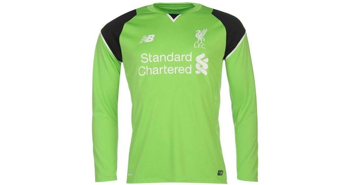 lowest price 6307d b49d6 New Balance 2016-17 Liverpool Home Goalkeeper Shirt (mignolet 22) - Kids  Men's In Green for men