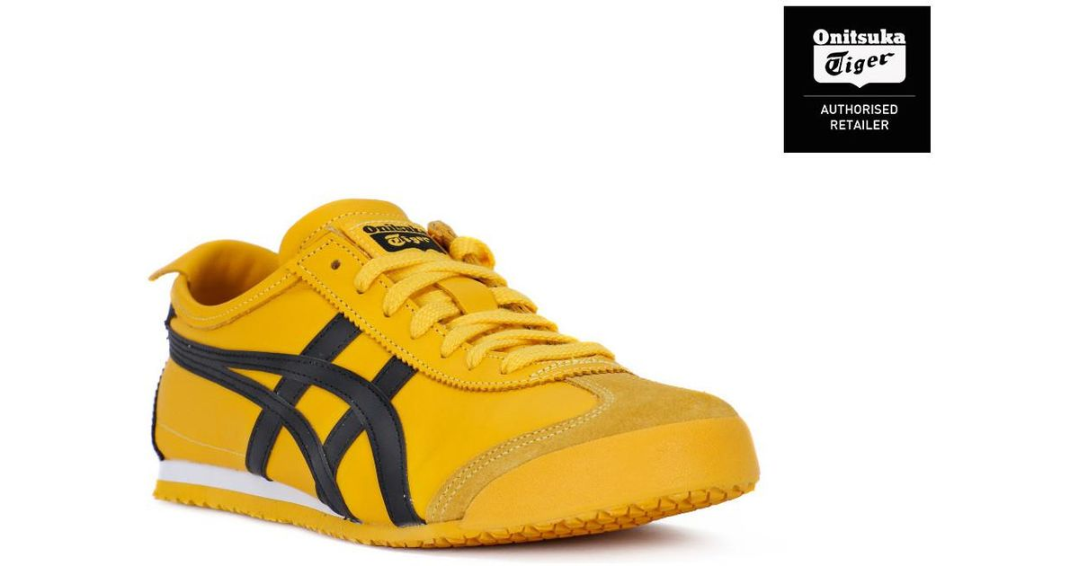 finest selection 404ef a599b Asics Onitsuka Tiger Mexico 66 Yellow Women's Shoes (trainers) In Yellow