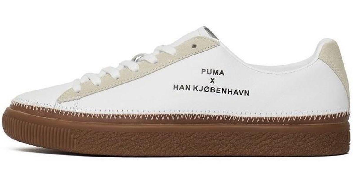 c81f5b022d PUMA - X Han Kjobenhavn Clyde Stitch Men's Shoes (trainers) In White for  Men - Lyst