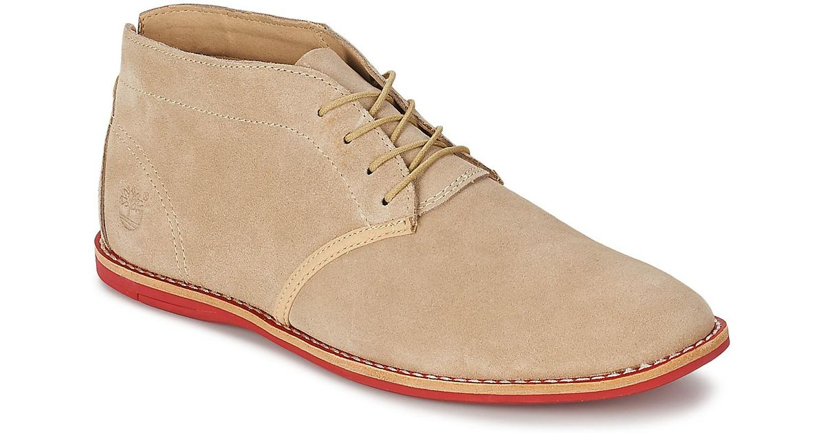 Timberland Natural Earthkeepers® Revenia Chukka Men's Mid Boots In Beige for men