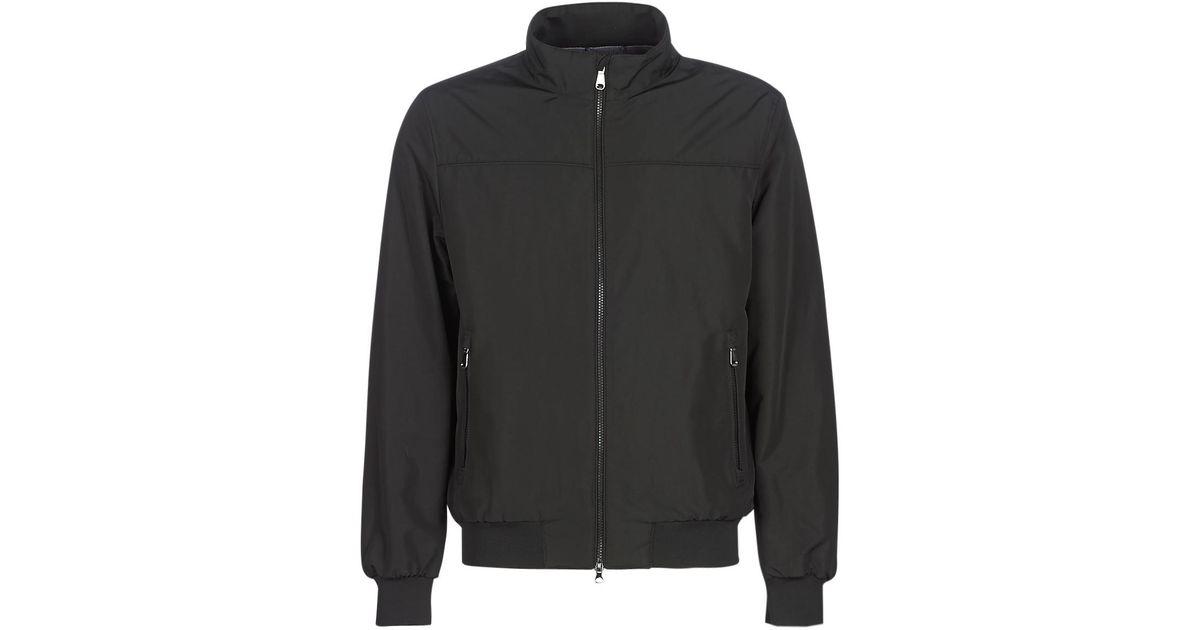 fashion picked up detailing VINCIT hommes Blouson en Noir Geox pour homme en coloris Black