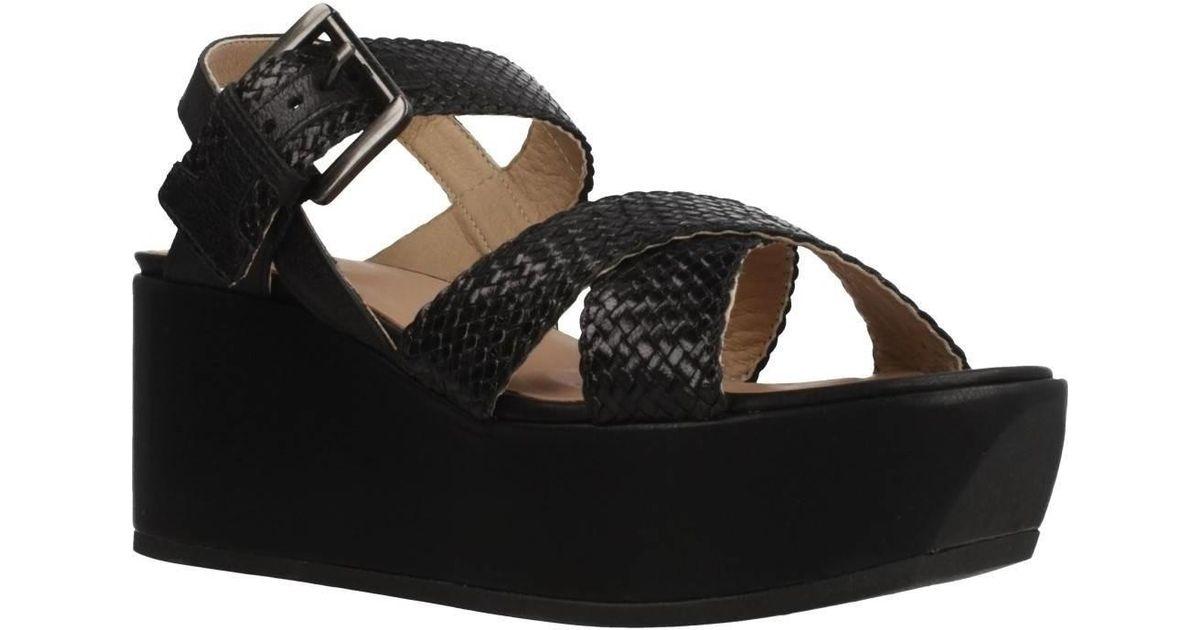 Geox Women's Black In D Zerfie Sandals F53lu1JcTK