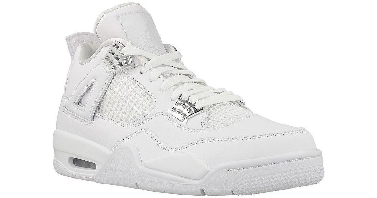 e05b090d8e240 Nike Air Jordan 4 Retro Men's Shoes (high-top Trainers) In White in White for  Men - Lyst