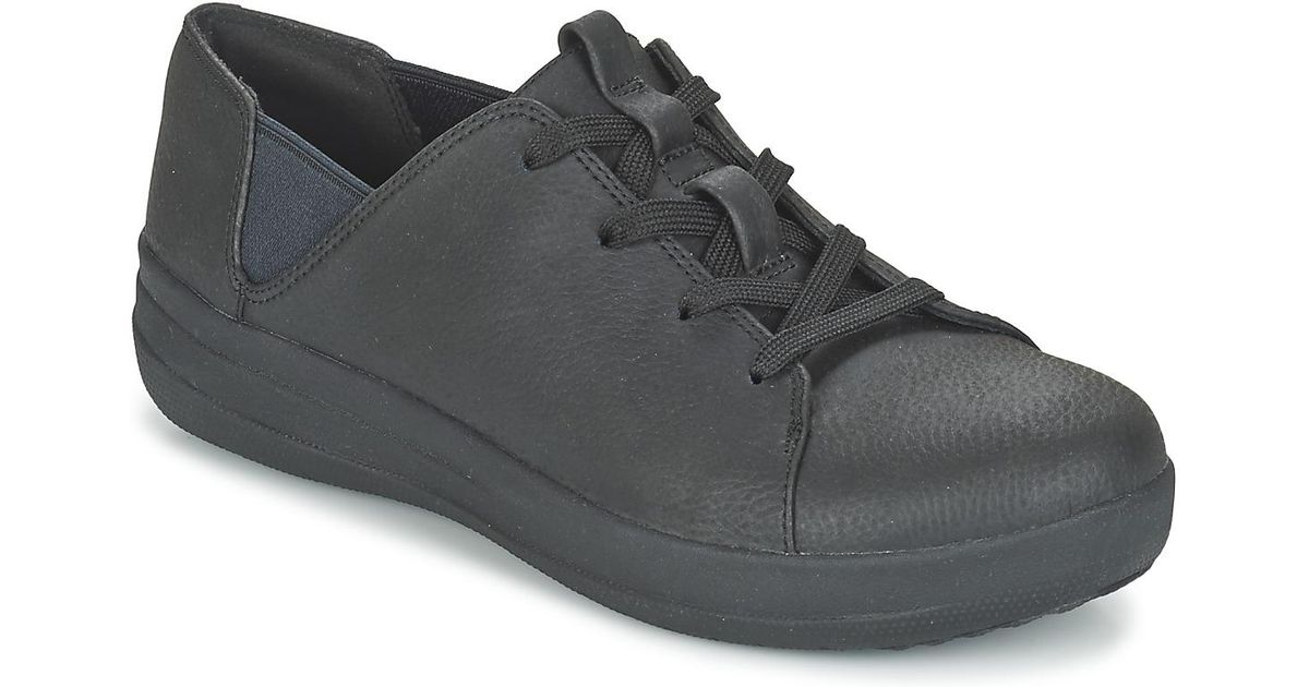 32b9a3f7eafa3 Fitflop F-sporty Lace-up Sneaker Women s Shoes (trainers) In Black in Black  - Lyst
