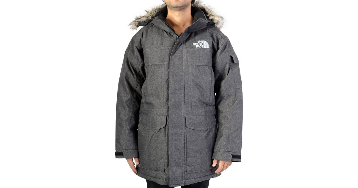 c19a482793a3 ... spain the north face down jacket mcmurdo parka t0a8xzjbu dark grey  womens parka in grey in
