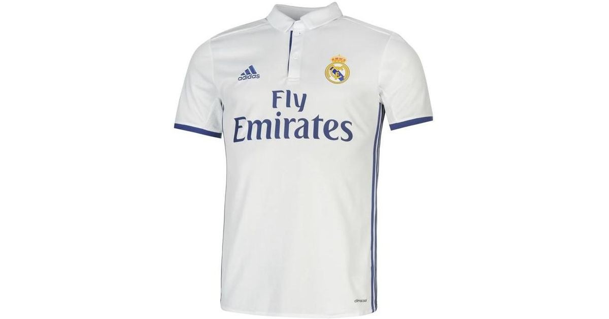 size 40 c94a6 1d412 Adidas - 2016-17 Real Madrid Home Shirt (ronaldo 9) Women's T Shirt In  White - Lyst