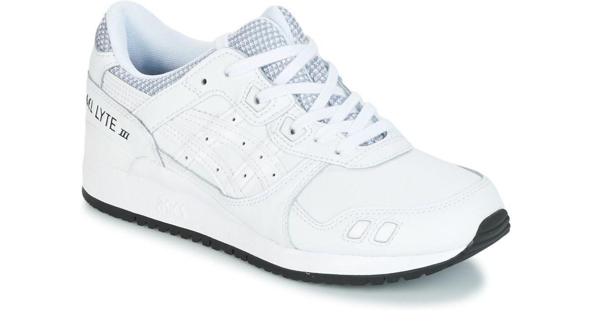 buy popular 16b20 8c671 Asics Gel-lyte Iii Women's Shoes (trainers) In White