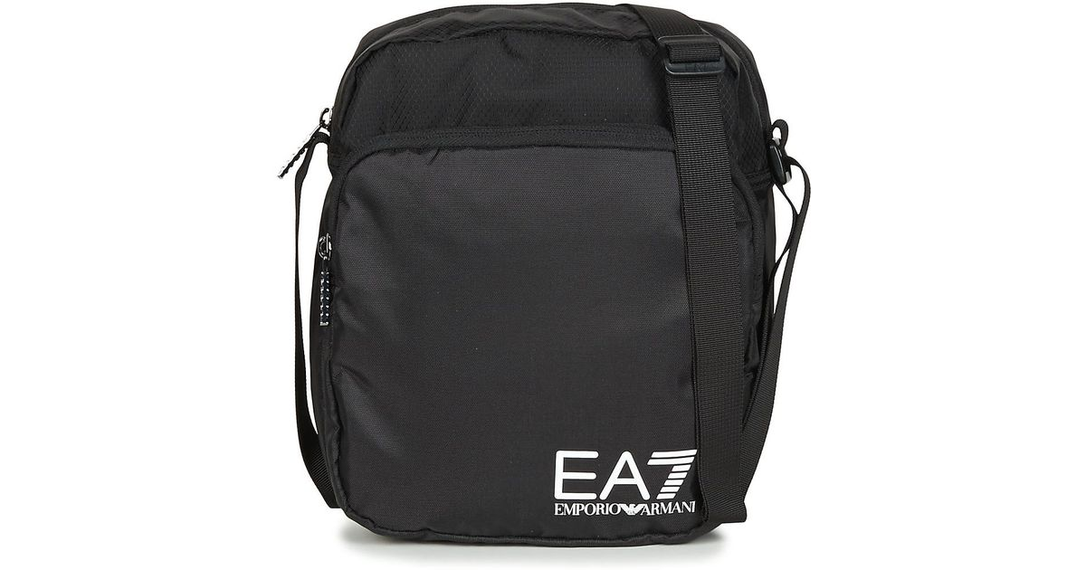EA7 Train Prime U Pouch Bag Large A Pouch in Black for Men - Lyst 344be401c0492