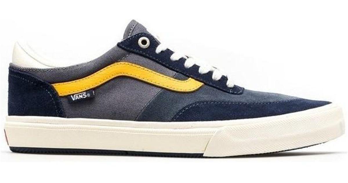 1492386d8a0535 Vans Gilbert Crockett Men s Shoes (trainers) In Multicolour in Blue for Men  - Lyst
