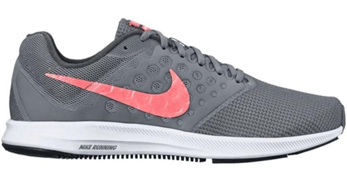 4ccf7da42c8e7 Nike Wmns Downshifter 7 Women s Running Trainers In Grey in Gray - Lyst