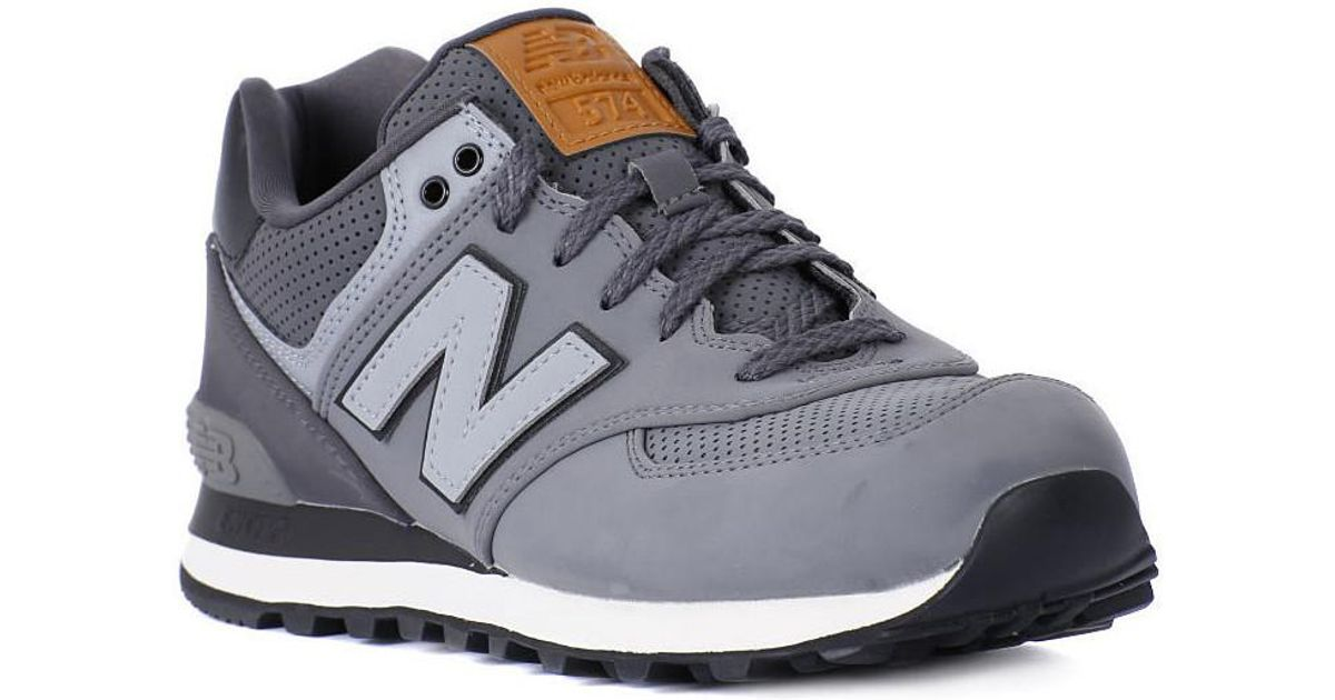 Grey Lyst trainers Men's For In Balance New Shoes Men Gray Ml574gpb xqwCpTU0