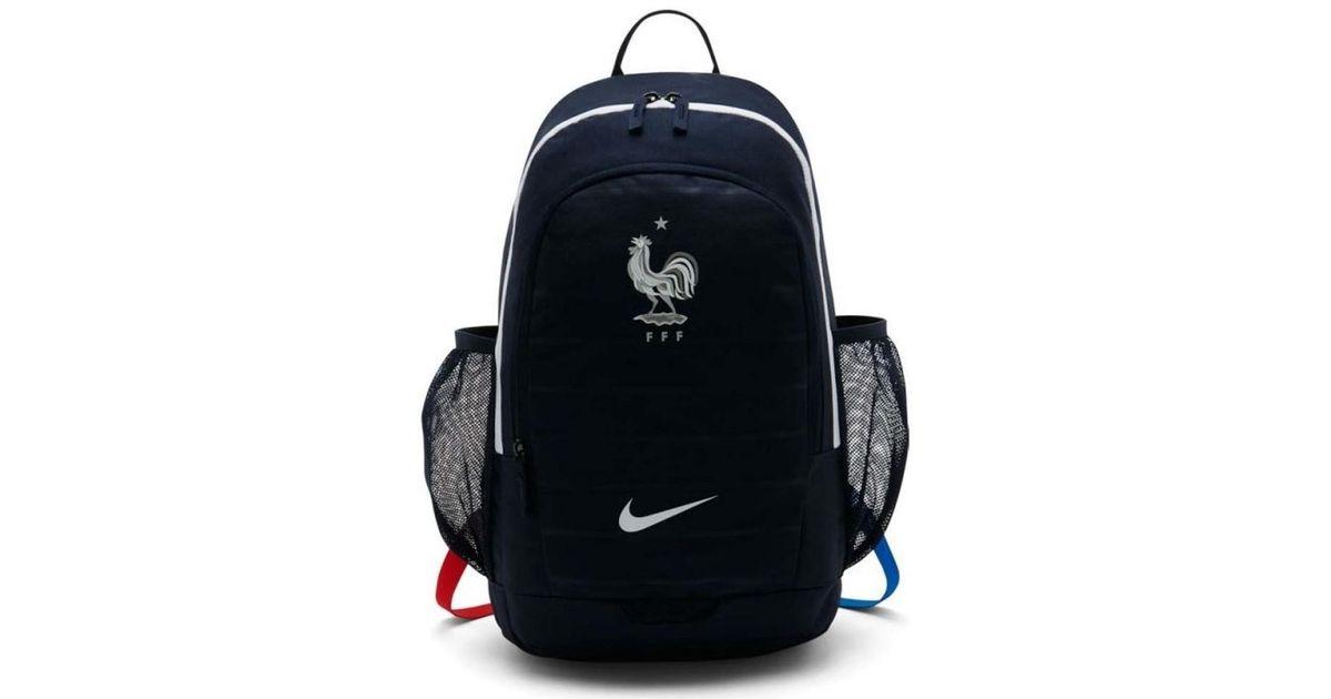 fbbd7baa93f5 Nike 2018-2019 France Nk Stadiumpack (obsidian) Women s Backpack In Blue in  Blue for Men - Lyst