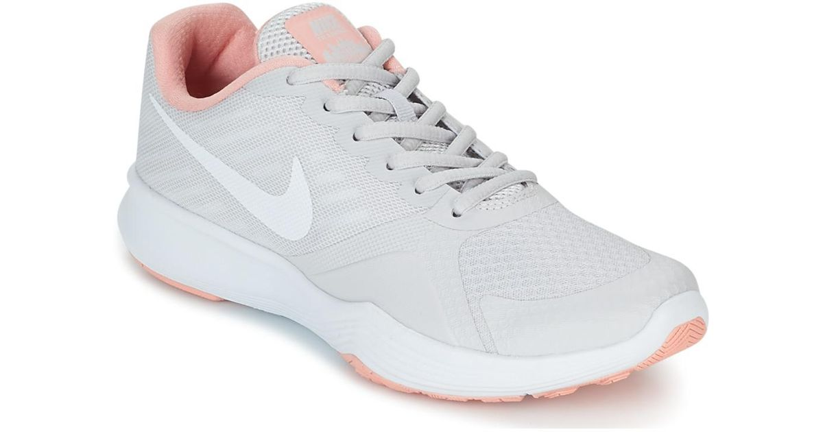 4781c783d5204 Nike City Trainer W Women s Sports Trainers (shoes) In Grey in Gray - Lyst