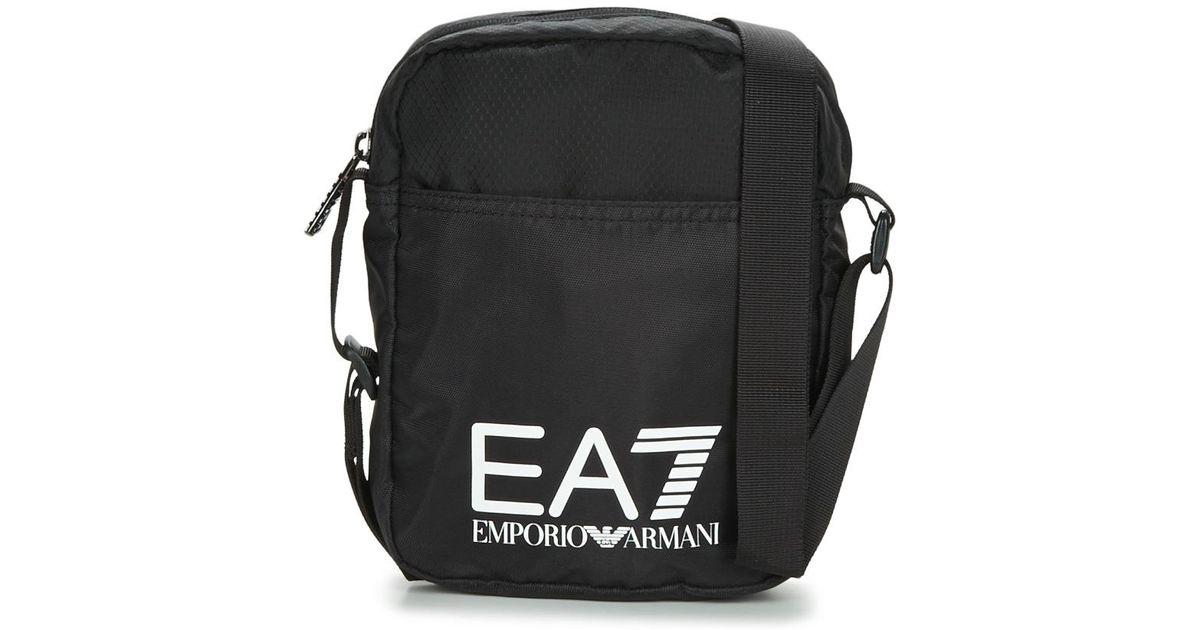 8c90163dd5da EA7 Train Prime U Pouch Bag Small A Pouch in Black for Men - Lyst