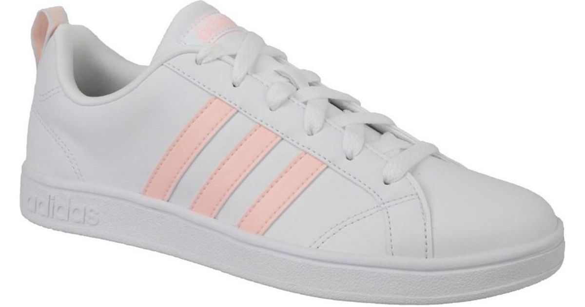 adidas Vs Advantage W Women s Shoes (trainers) In White in White - Lyst dcd3b28ae44