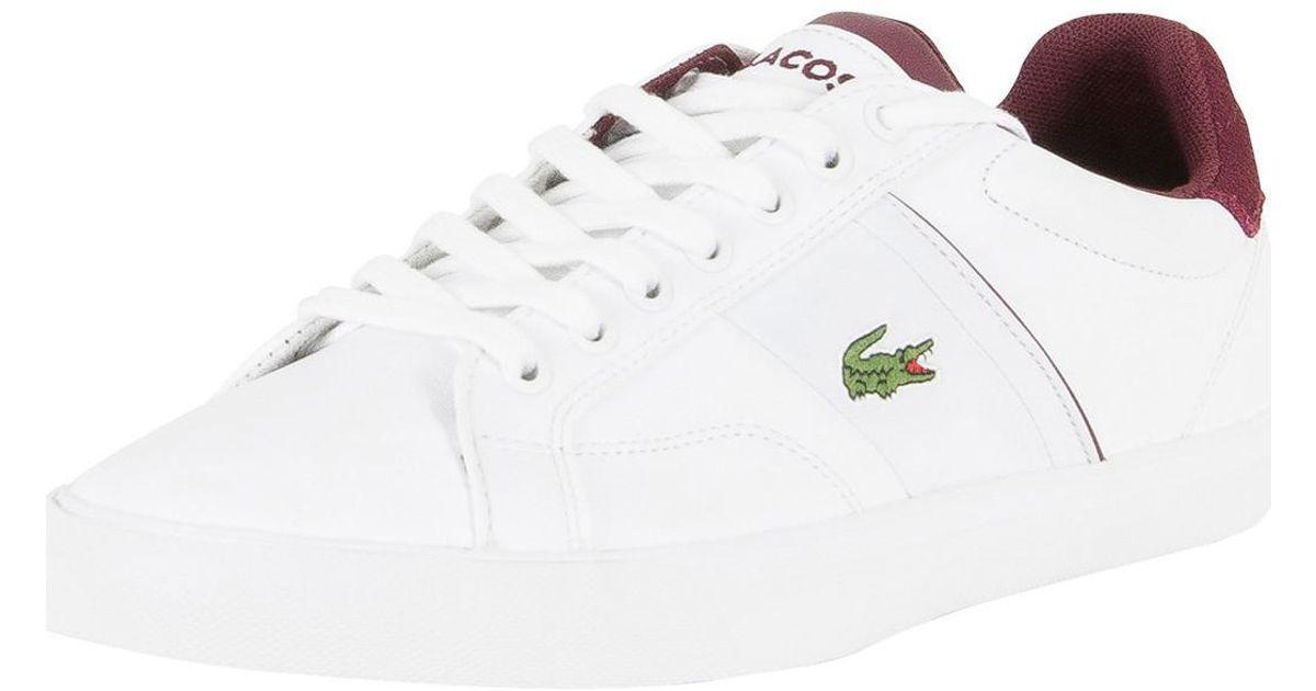 Najnowsza odebrane przystojny Lacoste Men's Fairlead 317 2 Cam Trainers, White Men's Shoes (trainers) In  White for men