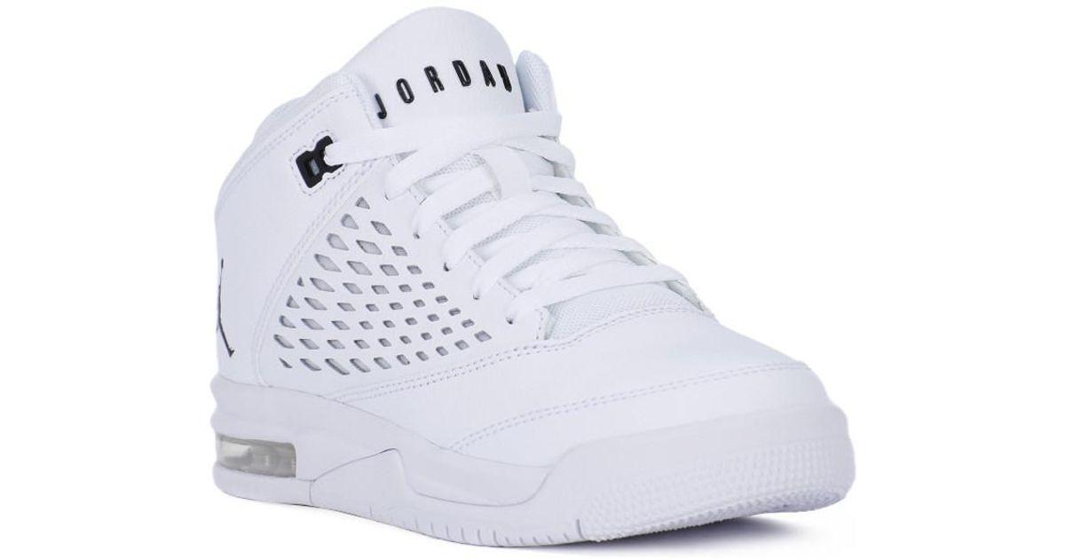 pretty nice 5a34a 9f0d1 Nike Jordan Flight Origin 4 Bg Women's Shoes (trainers) In White