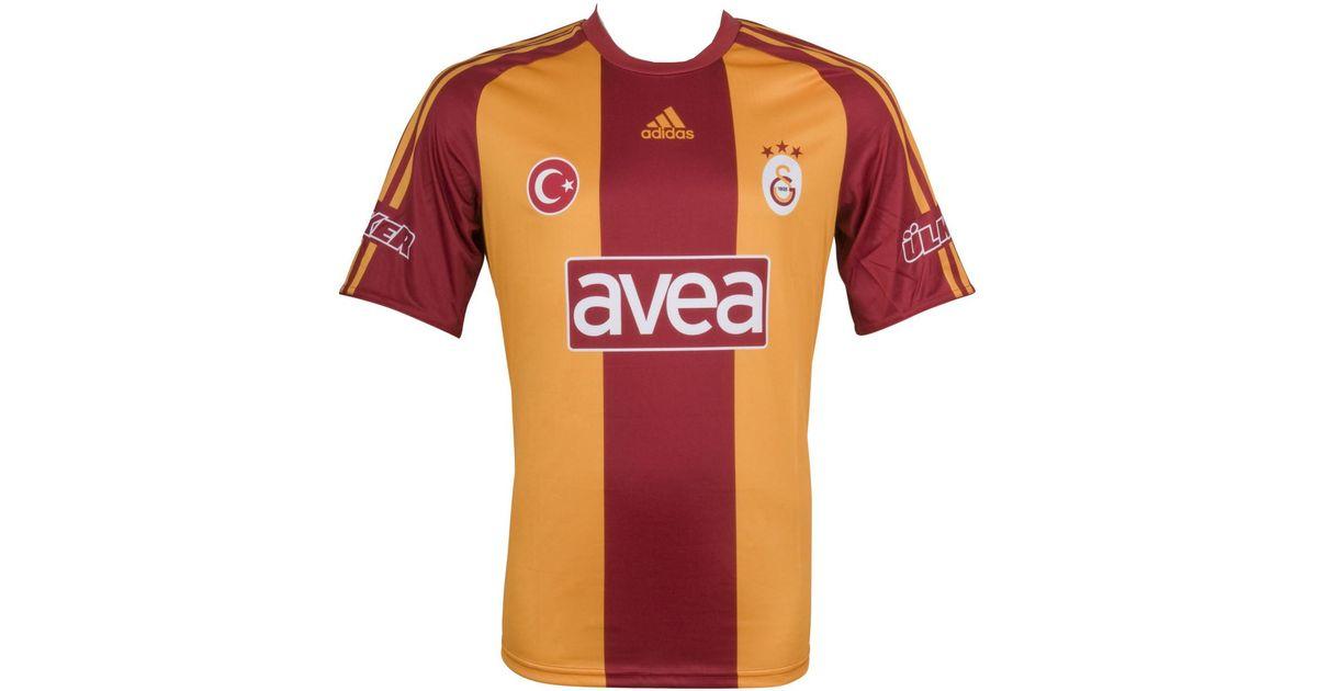buy popular c50d7 de988 Nike - 2016-2017 Galatasaray 3rd Football Shirt Men's T Shirt In Red for  Men - Lyst