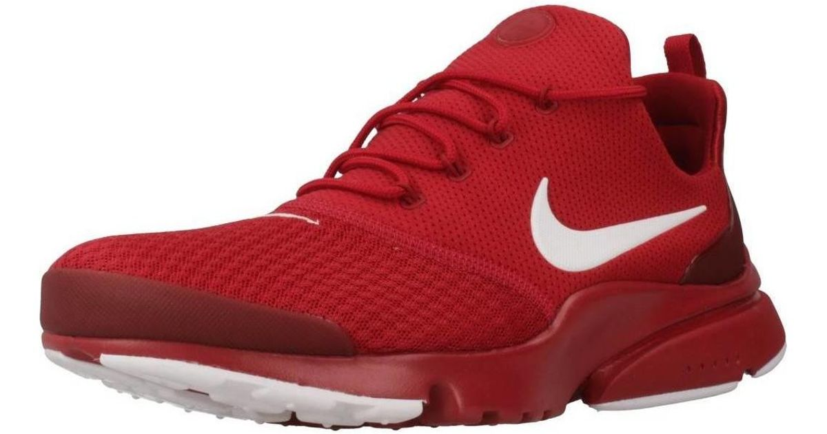 3cd8fab25d979 Nike Presto Fly Se Men's Shoes (trainers) In Red for men