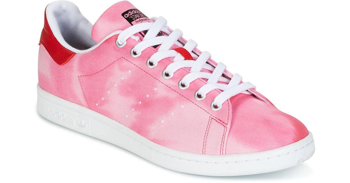 le dernier 59b0f 1a4a8 Adidas Pink Originals Pharrell Williams Pw Hu Holi Stan Smith Collaboration  Sneakers