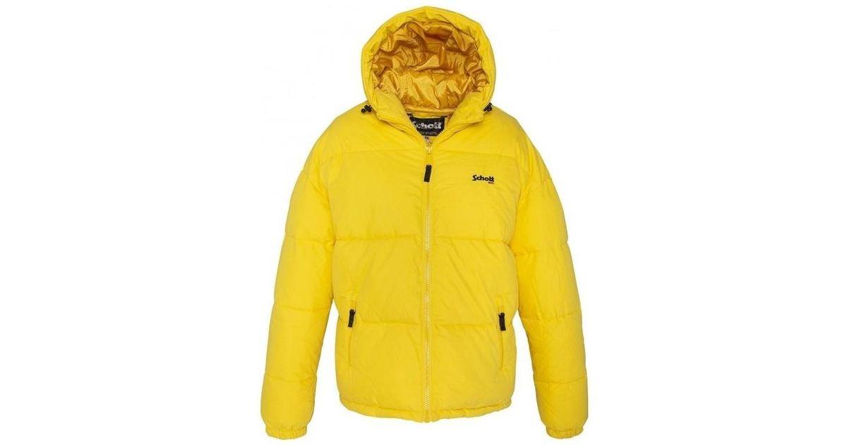 Lyst - Doudoune JKT ALASKA W Jaune femmes Blouson en jaune Schott Nyc en  coloris Jaune 24f7dfaa034b