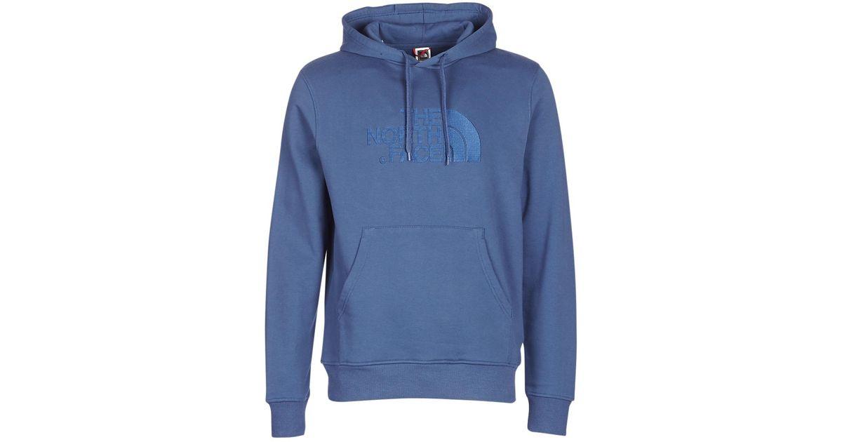 fd4c25aba The North Face Drew Peak Pullover Hoodie Men's Sweatshirt In Blue for men