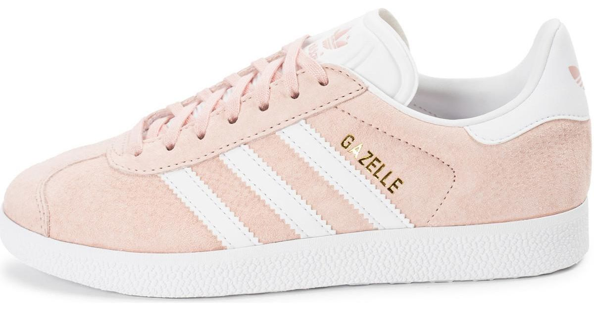 Gazelle Bonbonhe Chaussures Adidas Hommes Rose White Coloris
