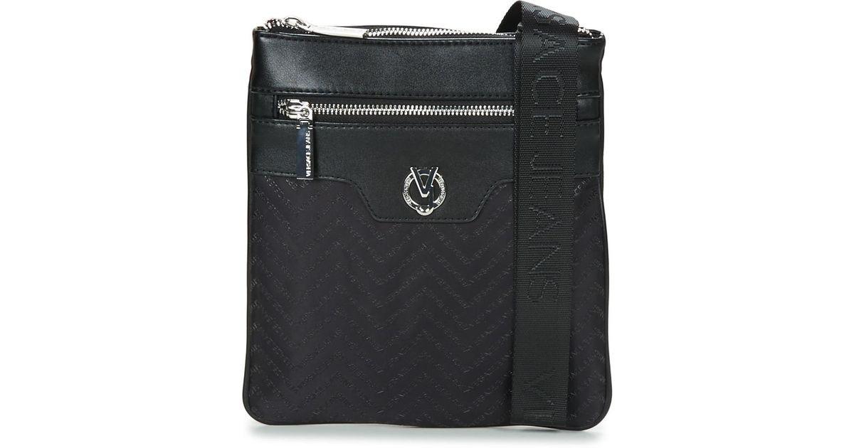 4536da4f Versace Black Yrbb08 Pouch for men