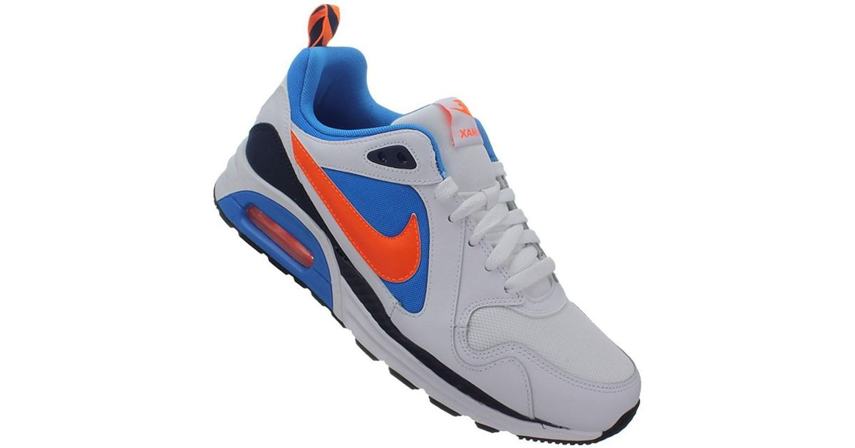 97fb7aca81368 Nike Air Max Trax Men's Shoes (trainers) In Blue for men