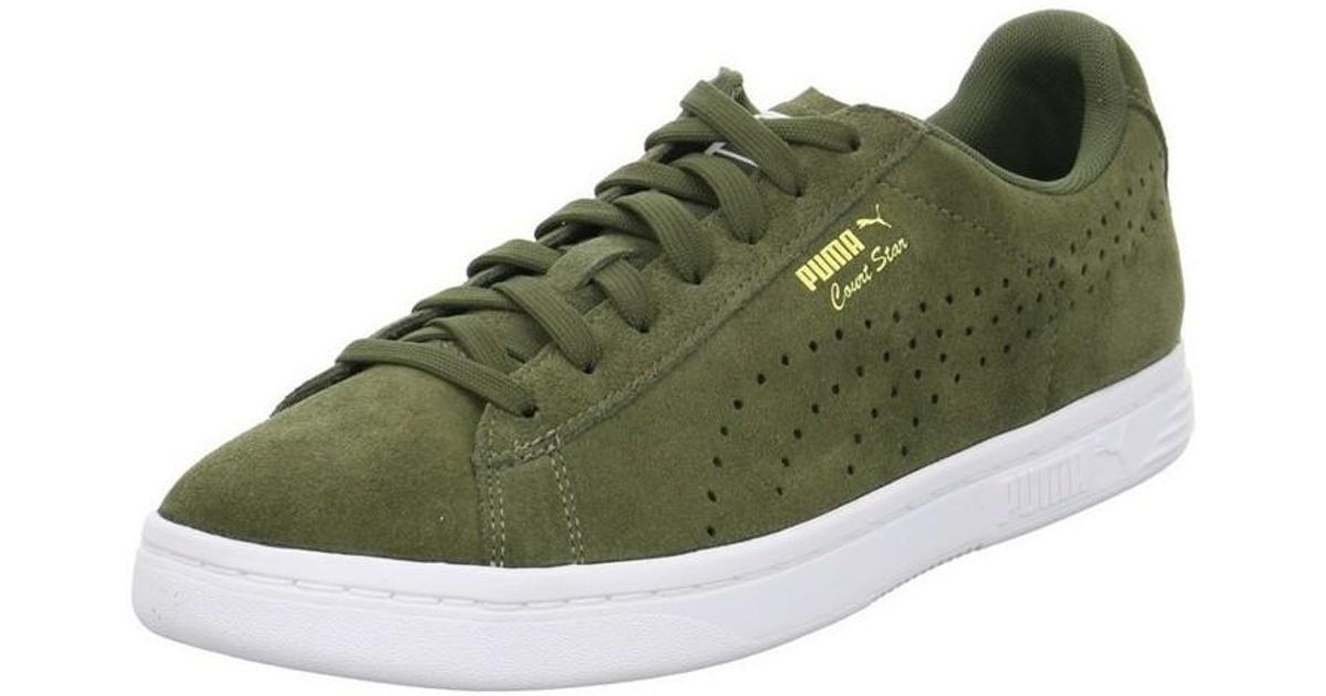 best service 953fc 7b00b PUMA Court Star Men's Shoes (trainers) In Green