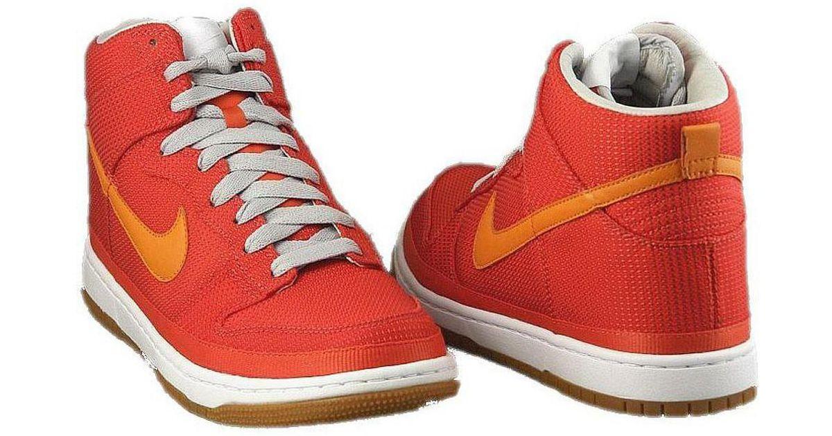 innovative design 32175 4de9e Nike Dunk High Supreme Women's Shoes (high-top Trainers) In Orange