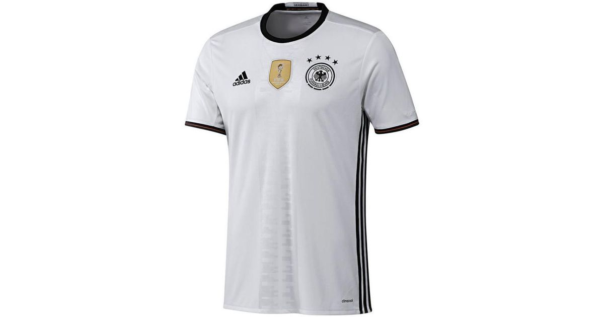 competitive price 070c1 3aefb Adidas - 2016-2017 Germany Home Shirt (schweinsteiger 7) - Kids Men's T  Shirt In White for Men - Lyst