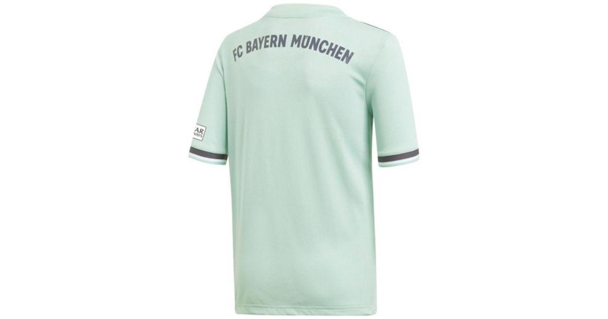 adidas 2018-19 Bayern Munich Away Shirt (s 5) - Kids Women s T Shirt In  Blue in Blue - Lyst 9a0574f63