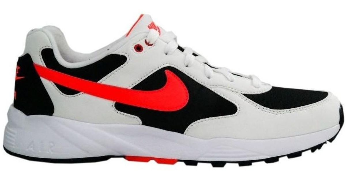 Nike Air Icarus Nsw White Bright Crimson Black Men's Shoes (trainers) In White for men