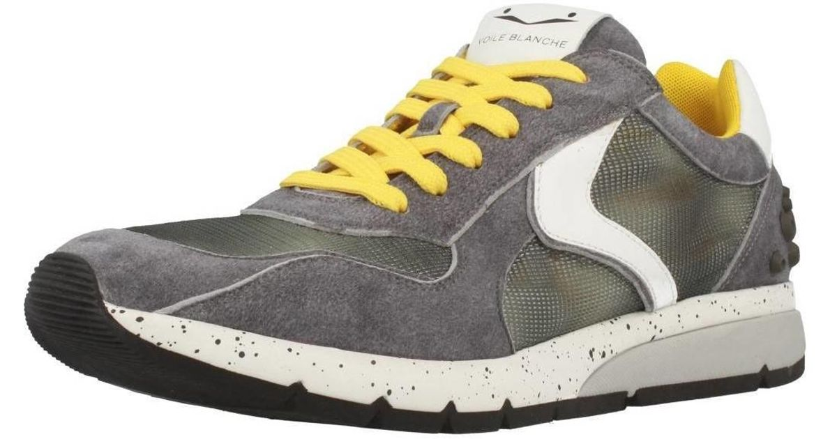 Voile Blanche Lenny Mesh Power Mens Shoes Trainers In Grey In Gray For Men Lyst