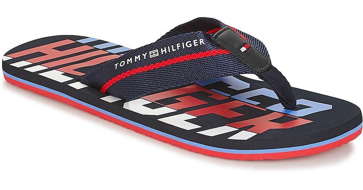 0ebb44deda67d Tommy Hilfiger Floyd 22 Men s Flip Flops   Sandals (shoes) In Blue in Blue  for Men - Lyst