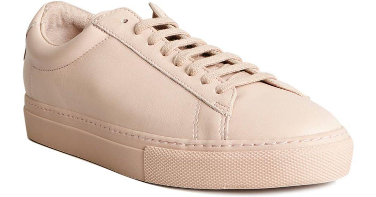 Zespà Nappa Sneakers 48182 Nude Women's