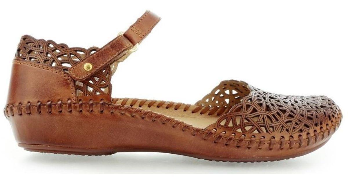 f1a2d4deebb72b Pikolinos Puerto Vallarta Women s Shoes (pumps   Ballerinas) In Brown in  Brown - Lyst