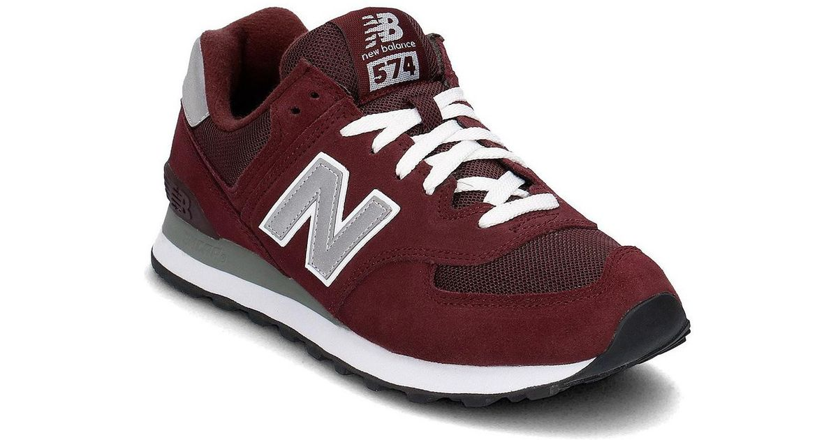 cheap for discount 117ff 82681 New Balance Red M574nbu Men's Shoes (trainers) In Multicolour for men